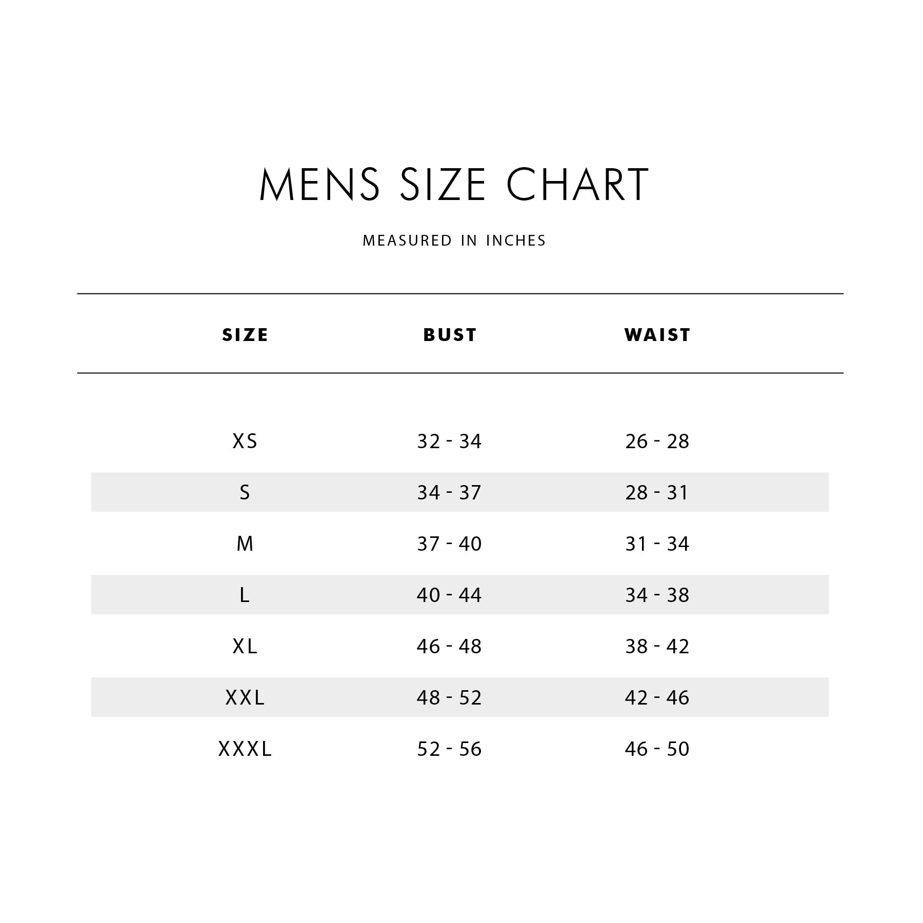 ab158dcacda Kids Loose Fit Size Chart Kids Tight Fit Size Chart Infant   Toddler Size  Chart How to Measure Guide